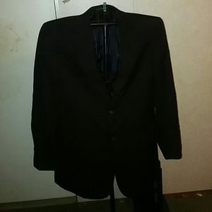 Mens Polyester/Wool Suit Jacket. EUC